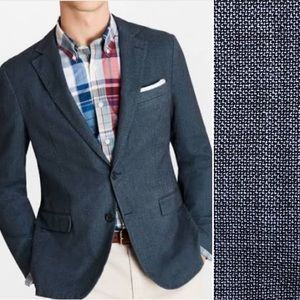 Hugo Boss Hutsons Woven Virgin Wool Blazer Jacket